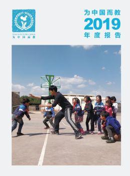 为中国而教 2019 年度报告