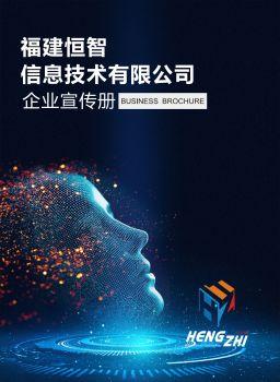 福建恒智信息技術有限公司宣傳冊