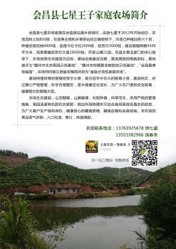 七星王子家庭农场电子宣传册