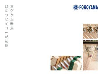 FOKOYAMA宣传册