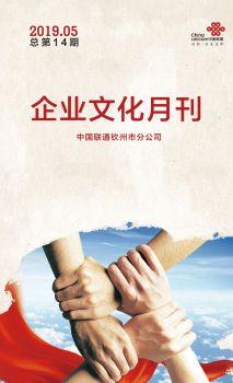 钦州联通企业文化月刊(2019年05月刊总第14期)