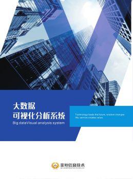 金垣 • 大数据分析系统电子画册