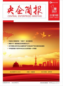 央企简报(2021年第1期)电子刊宣传画册
