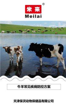牛羊常见疾病防控方案