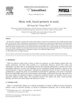 音乐漫步,音乐中的分形几何电子宣传册