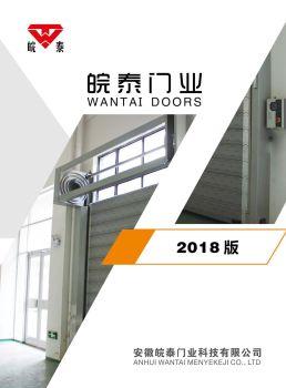 安徽皖泰门业科技有限公司宣传册