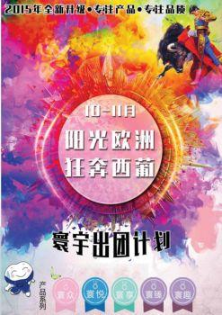 最新9-11月寰宇欧美南亚计划10.13电子画册