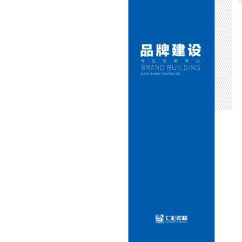 七彩宣传册-品牌建设