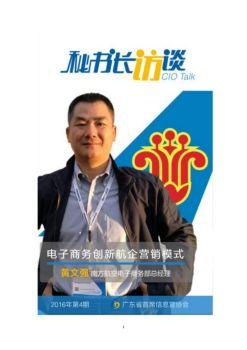 黄文强:电子商务创新航企营销模式电子画册
