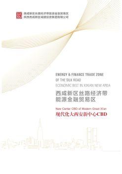 西咸新区能源金融贸易区2017宣传册