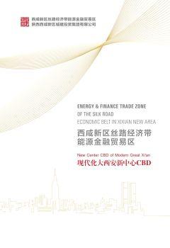 西咸新区能源金融贸易区2017宣传册,电子画册期刊阅读发布