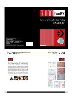 瑞博拉手宣传画册