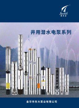 2019版东大泵业册子电子书