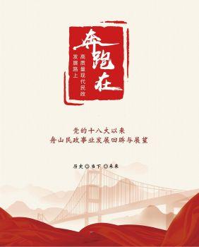 《奔跑在高质量现代民政发展路上》画册