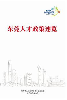 2020年东莞人才政策速览,3D翻页电子画册阅读发布平台