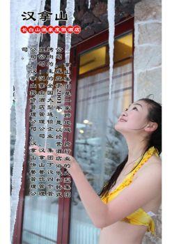 长白山汉拿山温泉度假酒店宣传画册