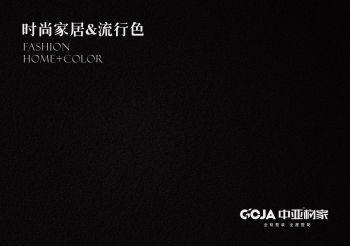 中亚构家家居流行花色电子画册