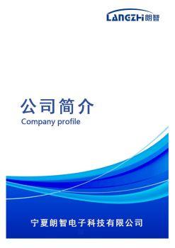 宁夏朗智电子科技有限公司电子画册