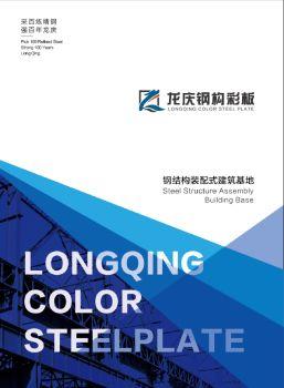 龙庆钢构2019综合画册 电子书制作软件