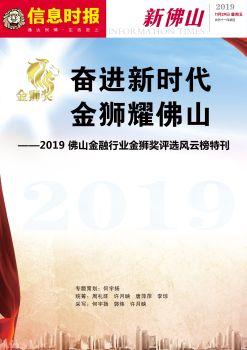 奋进新时代  金狮耀佛山电子宣传册