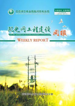 临河供电分局配电网工程建设周报(2018年第33周  8月10日-8月17日)内部资料 注意保密