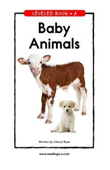 Baby Animals,电子书免费制作 免费阅读