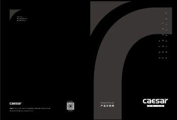凯撒价格表(19年第三版)-已压缩 电子书制作软件