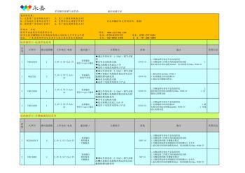 VINTEK元泰品牌 各种常用触摸IC选型表电子画册