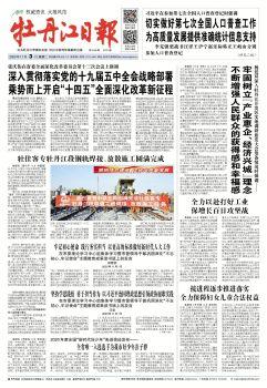 2020年11月03日《牡丹江日报》 电子书制作软件