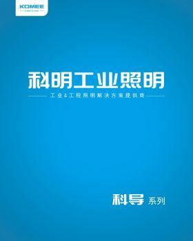科明工业照明渠道产品海报电子杂志