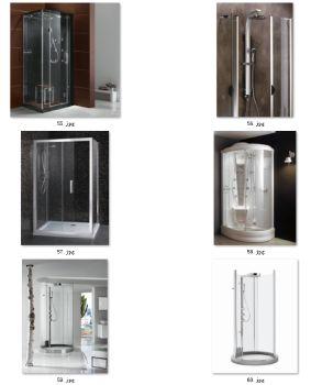 (共2260张)淋浴房蒸汽房沐浴房汗蒸房SPA房高清图片画册设计印刷图库(7-13)--要原图/大图请跟客服联系--客服QQ号:985849065 微信号/:2206016230  电话:13682674989--整体一体式简易弧扇形淋浴房封闭式淋浴房浴室高清晰度画册图册设计印刷级图片素材)-高清无水印 ---已经全面更新了,展示在qq空间相册/主页(做画册图册彩页宣传册设计印刷专用高清图片)-欢迎大家下载或转存 百度网盘缩略图展示---https://pan.baidu.com/s/1EVpbhvUE3