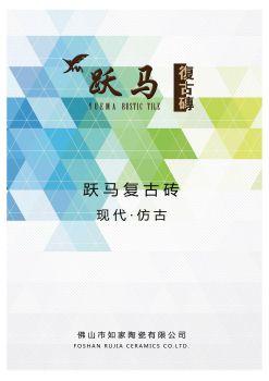 跃马时尚现代仿古砖电子相册电子书