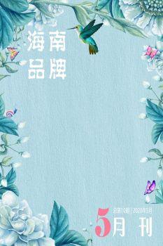 碧桂园海南区域5月品牌刊