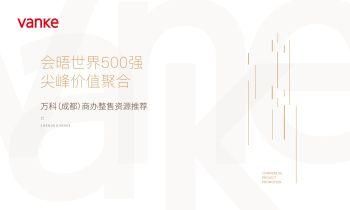 4 万科(成都)商办整售资源推荐白皮书电子刊物