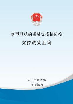 新型冠状病毒肺炎疫情防控支持政策汇编电子宣传册