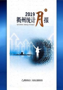 2019年5月衢州统计月报电子画册