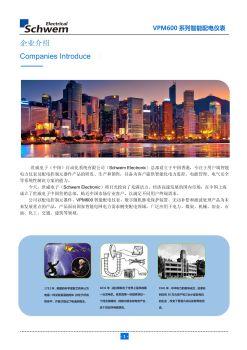 VPM600系列智能配电仪表电子画册