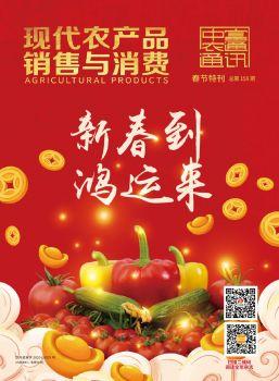 现代农产品销售与消费春节特刊电子刊物 电子书制作软件