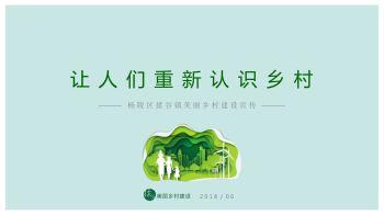 美丽乡村建设宣传电子宣传册