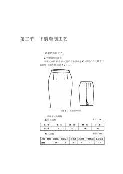 服装工艺3—缝制.下装电子书