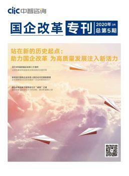2020中智咨询《国企改革》专刊第一期 - 站在新的历史起点:助力国企改革 为高质量发展注入新活力