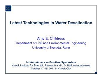 海水淡化技术电子书