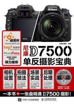 《尼康D7500单反摄影宝典:相机设置+拍摄技法+场景实战+后期处理》电子书