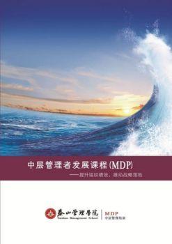 中层管理发展课程电子书