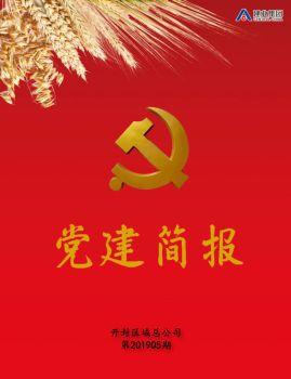 开封建业·党建简报 第201905期电子书
