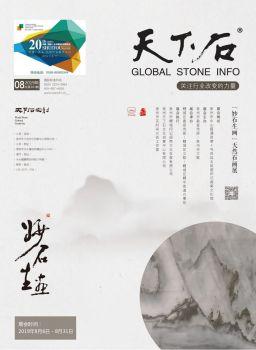 2019年8月《天下石》专业石材杂志第163期