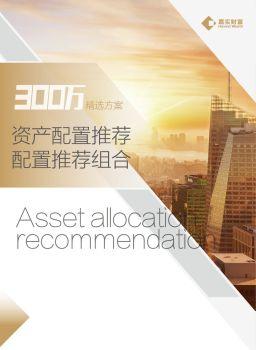 2018年11月资产配置建议(300万) 电子书制作平台
