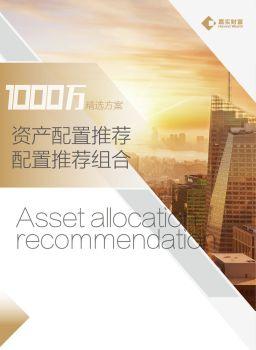 2018年11月资产配置建议(1000万) 电子杂志制作平台