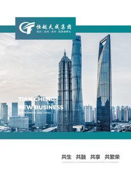 天成集团企业画册 电子杂志制作平台