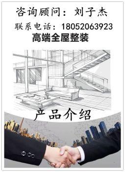全屋整装产品介绍(刘子杰)电子画册